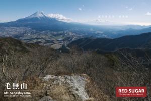 毛無山展望台から見る富士山