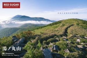 湯ノ丸山の稜線